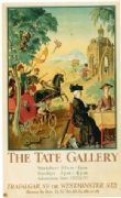 London underground poster - The Tate Gallery